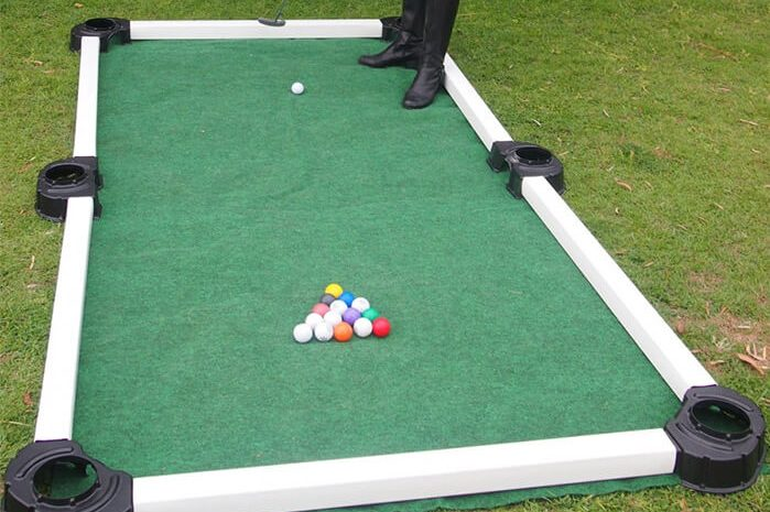 Putt Putt Pool Golf Pool Game Hire Active Games Entertainment